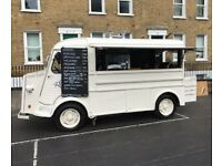 Fun Mobile Coffee Van Positions for street food markets and festivals (Part-time / 7 days a week)