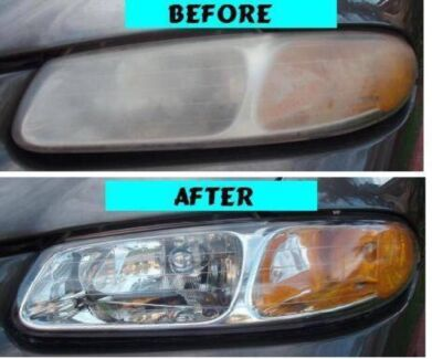HEADLIGHT POLISHING from $50 a set WE COME TO YOU!!