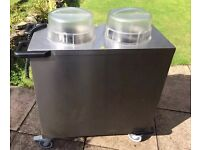 DOUBLE PLATE WARMER / DISPENSER HUPFER EXCELLENT CONDITION £950+ NEW!!