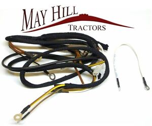 Awesome Ferguson Wiring Loom Antique Tractor Parts Accs Ebay Wiring Cloud Xeiraioscosaoduqqnet