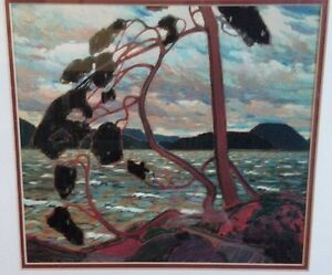 Group of 7 Framed Print - 'The West Wind' 1916-17
