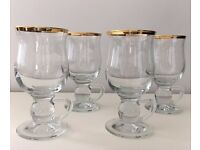 Original Rayware Irish Coffee Glasses X4
