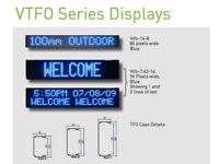 High Quality EXTERIOR Single Line LED SIGN For Shop, Sports, display VTFO-14-8x80-Red 1.2m RRP £644