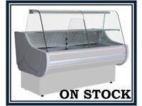 NEW £1375+VAT 200cm (6.6 feet) Serve Over Counter Display Fridge EGIDA N2512