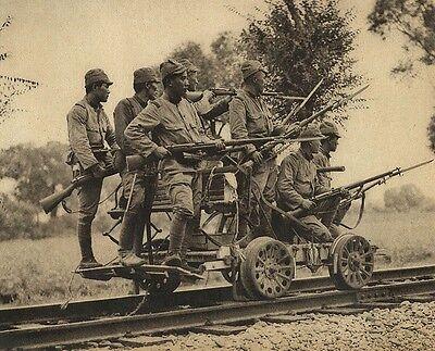 "Japanese Army Soldiers Arisaka Type 38 Rifles 8""x 10"" World War II WW2 Photo 445"