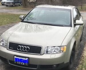 AUDI A4 WITH LOW KM'S!