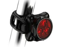 Lost in Hammonds Plains- Red Lezyne flashing light
