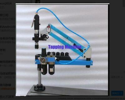 Universal Flexible Arm Pneumatic Air Tapping Machine 360 Angle 1000mm M3-m16 Y
