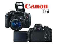 ★ BRAND NEW SEALED BOX CANON T6i BODY ONLY★★★★★ 1YEAR WARRANTY ★