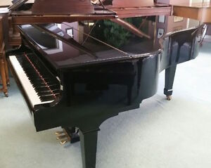 """Concert Grand Piano 6'10"""" for sale or rent to good home"""
