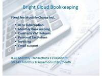 Bright Cloud Bookkeeping - Fixed Fee Bookkeeping