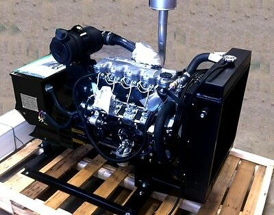 Isuzu 20 KW Diesel Generator 5yr/5000hr commitment Stationary Use
