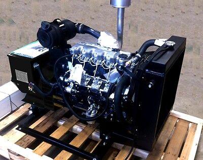 Isuzu 20 Kw Diesel Generator 5yr5000hr Warranty Stationary Use