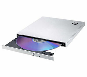 30% off HP - USB External Slimline DVD Writer, Silver