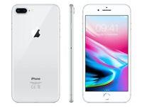 iPhone 8 Plus 256GB Silver Like New