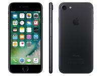 *Brand New - Sealed in Box* Apple iPhone 7 Black 32GB LTE/4G latest iOS 10.3.3 - Vodafone UK