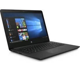 "HP14-bp062sa 14"" Laptop - Jet Black, i5-7200U 2.5Ghz, 8GB RAM, 128GB SSD."