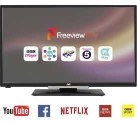 "VC LT-32C660 Smart 32"" LED TV with HD Ready 720p Built-in WiFi Freeview HD - Black"