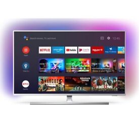 """PHILIPS 50PUS8555 50"""" Smart 4K Ultra HD HDR LED AMBILIGHT TV + Google Assistant, NO TEXTS OR OFFERS"""