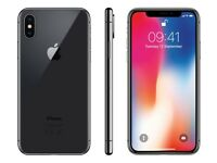 Brand new iPhone X 256 gb space grey