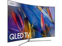 "Brand New Samsung Q-Series QE55Q7CAMT - 55"" Curved QLED Smart TV - 4K UltraHD"