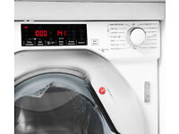 HOOVER HBWD 8514TAHC Integrated 8 kg Washer Dryer - White