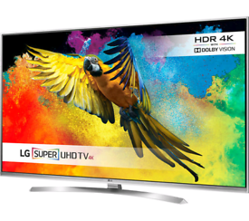 LG 55 inch super Ultra HD HDR 4K LED Smart TV excellent condition