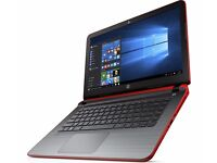 """HP Pavilion 15-ab019na 15.6"""" 4GB RAM 1TB HDD Touch screen Laptop Red-1 Year Warranty"""