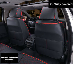 360°FULLY COVERED BEST FITTING PREMIUM LEATHER CAR SEAT COVER