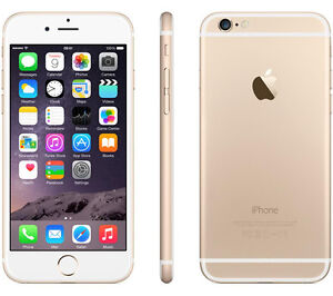 Apple iPhone 6, 16GB, Gold, Rogers