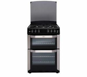 BELLING FSDF60DOW Dual Fuel Cooker - Stainless Steel REF-02