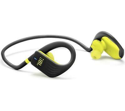 JBL Endurance Jump Wireless Bluetooth Headphones - Black & Lime