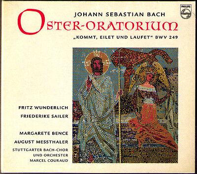 Bach Oster-oratorium Bwv 249 Fritz Wunderlich Marcel Couraud Cd Easter Oratorio
