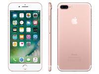 Unlocked Iphone 7 , 128 gb Rose gold
