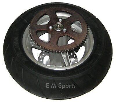 Mini Pocket Bike Crotch Rocket Rear Tire Wheel Rim 47cc 49cc MTA-1 MTA-2 MTA-3