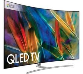 "SAMSUNGQE55Q8CAMT 55"" Smart 4K Ultra HD HDR Curved QLED TV"