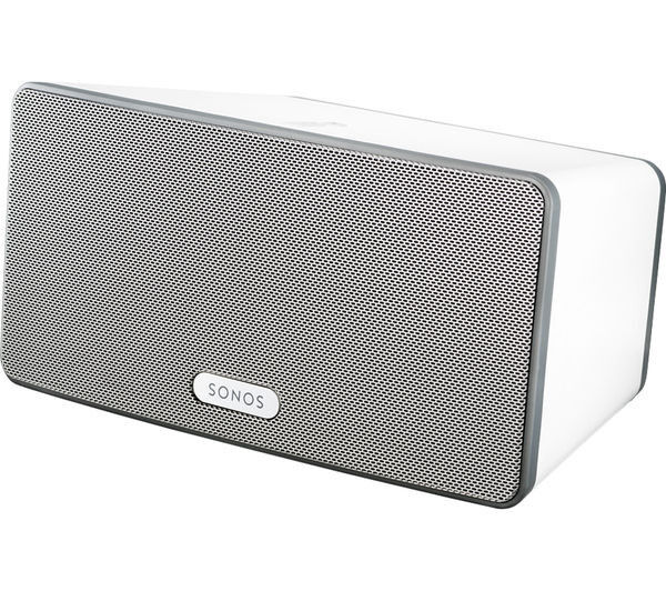 SONOS PLAY 3 - WHITE - BOXED - AS NEW