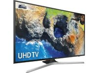 "Samsung UE55MU6100 55"" UHD HDR Pro Smart LED TV Apps Wi Fi Dolby HDMI Full HD 4K RRP: £779"