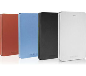 Toshiba Canvio Alu 3S Portable 1TB HDD - Various Colours Available