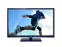 LOGIK 24 INCH BLUE LED FULL HD TV AND DVD COMBI WITH REMOTE CONTROL. EXCELLENT CONDITION.