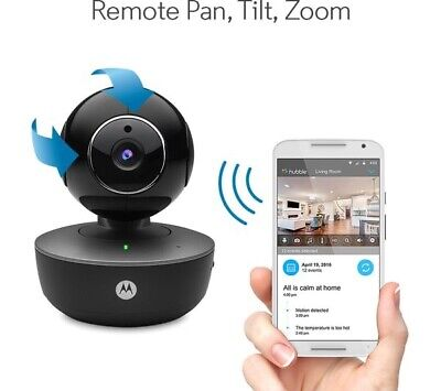 Motorola Focus 88 Portable Wi-Fi Smart Home Wireless Video Camera Security UK