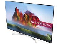 LG 55SJ850V LED HDR Super UHD 4K Smart TV, 55 inch with Freeview Play, Ultra Slim Design
