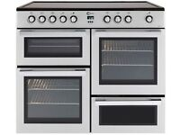 FLAVEL MLN10CRS Electric Ceramic Range Cooker