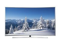 SAMSUNG 48 SMART CURVED UHD 3D SMART VOICE CONTROL 4K FREESAT & FREEVIEW HD