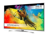 LG 65 SMART 3D LED SUHD 4K ULTRA THIN VOICE CONTROL FREESAT&FREEVIEW HD