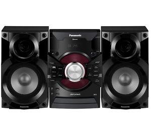PANASONIC SC-AKX18E-K Wireless Megasound Hi-Fi System CD player 350 W Black
