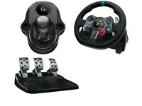 Logitech G29 Steering Wheel + Logitech G Driving Force Shifter (SET)