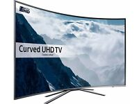 "SAMSUNG UE49KU6500 Smart 4k Ultra HD HDR 49"" Curved LED TV RRP £749, Our Price £525"