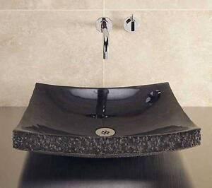 Luxury Black Granite Zen Vessel Basin - 3 Available RRP $750ea McKellar Belconnen Area Preview