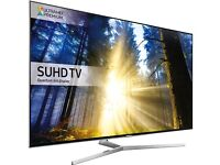 BRAND NEW SAMSUNG 49 QUANTUM DOT DISPLAY SMART LED SUHD HDR 2300 PQI FLAT SCREEN